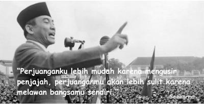 Kartu ucapan Kemerdekaan Ala Presiden Soekarno