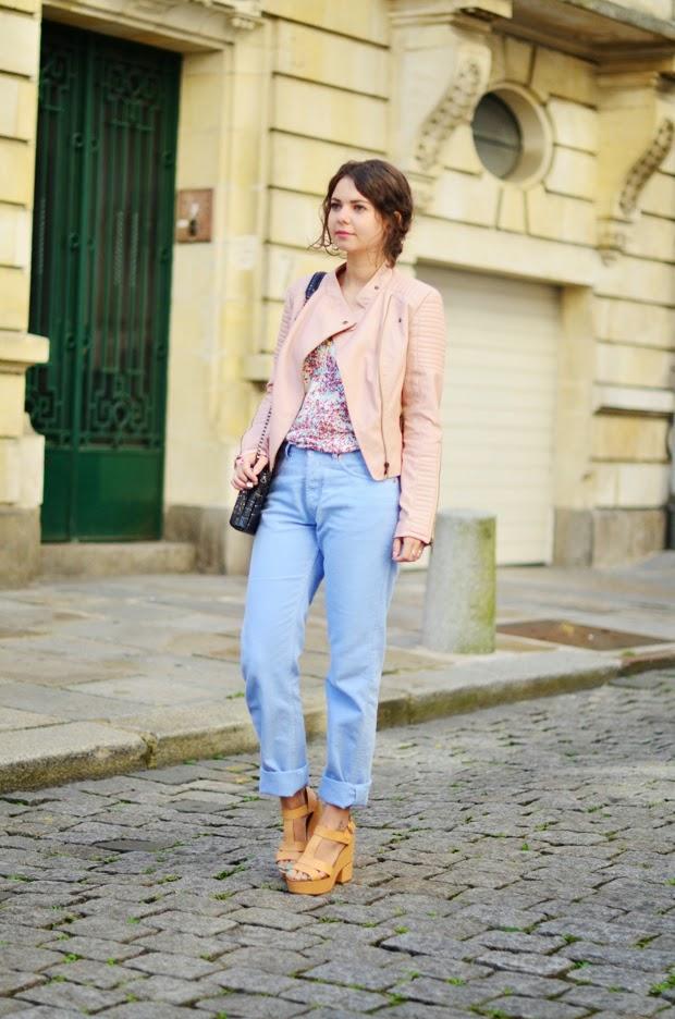 frais frais couleurs et frappant photos officielles 3 manières de porter : le perfecto rose poudré #3 - Juliette ...