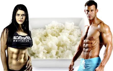 El arroz es muy importante para aumentar tu masa muscular