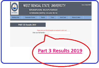 Barasat University Result 2019