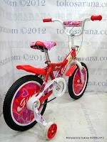3 Sepeda Anak Giant 1688 Love 16 Inci