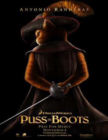 Puss in Boots 2011 Hindi Dual Audio BluRay Full Movie Download