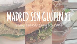 Establecimientos en Madrid sin gluten