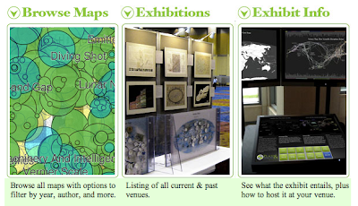 Complexity Map Wins Award for the Mapping Science