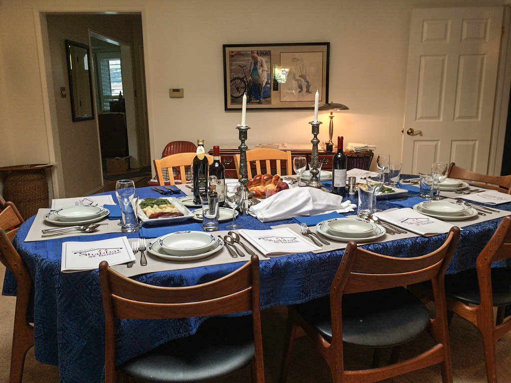 Our host Paul L. planned every detail of the evening. Heu0027d recently gone to Italy so he decided to have a menu that featured Italian Jewish cuisine. & Un-Sentenced For Life: Shabbat At Home - A Wonderful Experience ...