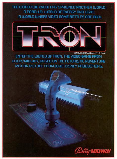 Póster Arcade Tron - 1982
