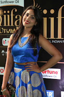 Madhu Shalini Looks Super Cute Slim trim Blue Choli Ghagra IIFA Utsavam Awards 44.JPG