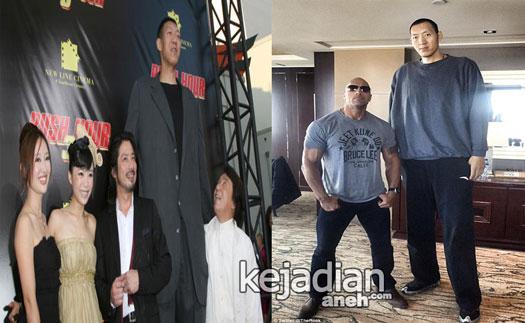Sun Ming and Xu Yan World Tallest Couple Uniknya Pasangan Suami Istri Tertinggi Di Dunia