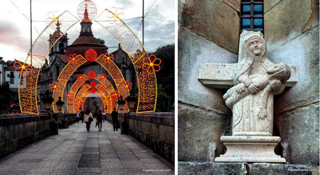 Ponte medieval e catedral de Amarante, Portugal