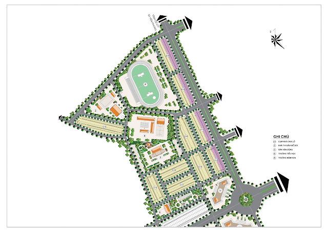 Mặt bằng tổng quan toàn khu dự án Đồng Kỵ Lovera Garden