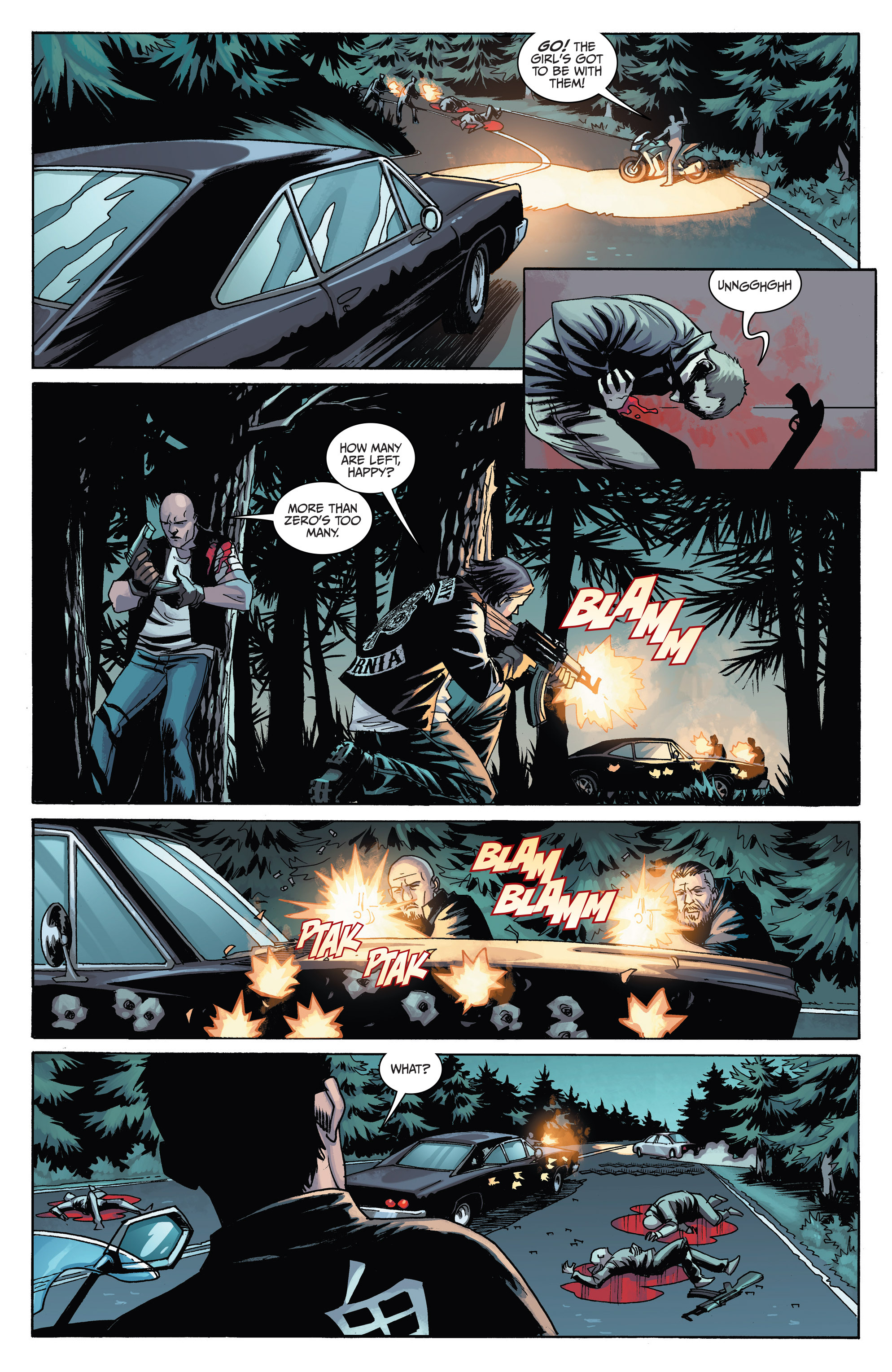Read online Sons of Anarchy comic -  Issue #6 - 12