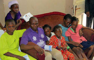 Eunice Olawale's husband and kids