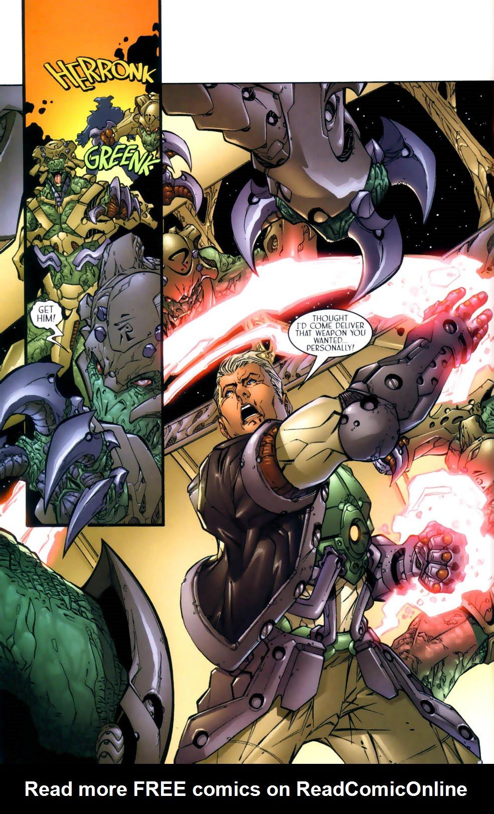 Read online Sigil (2000) comic -  Issue #3 - 21