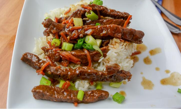 INSTANT POT MONGOLIAN BEEF #beef #healthydinner