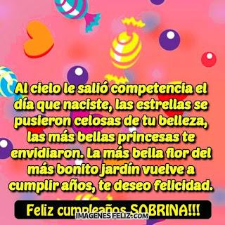 Feliz Cumpleaños princesa. Te deseo felicidad. Palabras para enviar por teléfono