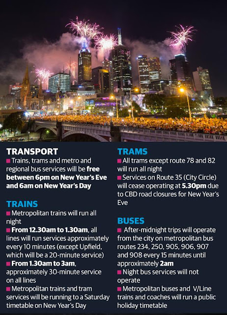melbourne-new-years-eve-2018-fireworks-transport-trams-trains-buses