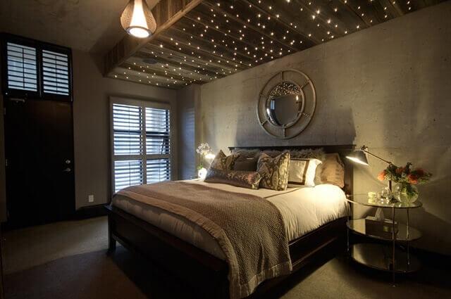 Romantik yatak odası dekorasyon örnekleri 3