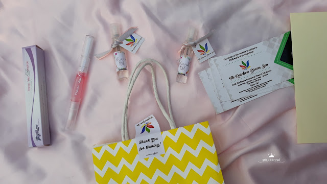 Thanks Rainbow Dream, Beauty Lane Phils and K Ross Fragrances