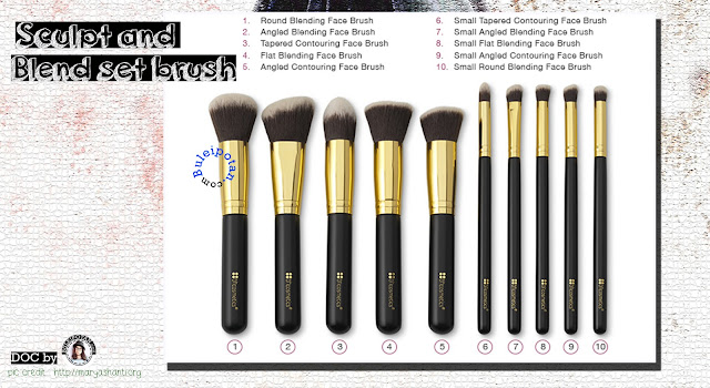 Sculpt and Blend Set Brush
