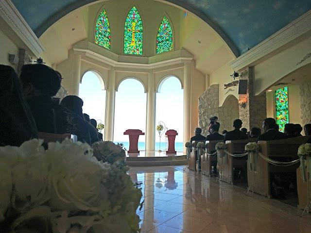 リザンシーパークホテル谷茶ベイのチャペルの写真