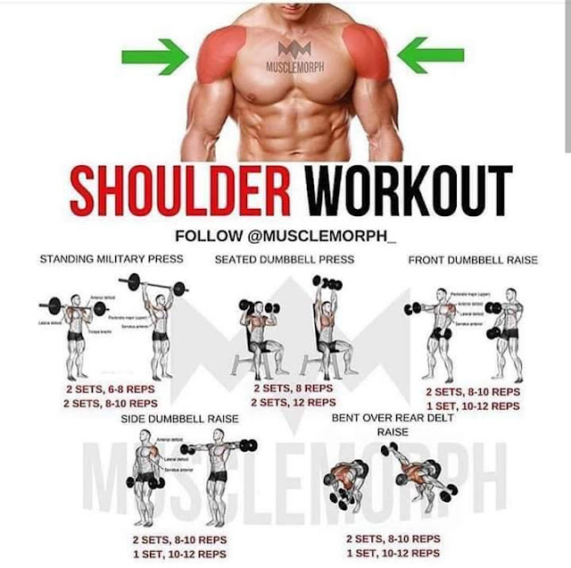 ejercicios para el hombro gym