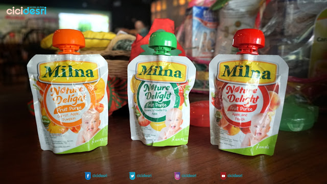 milna nature delight fruit pure
