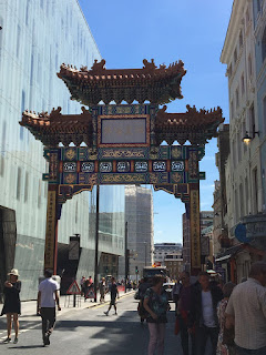 A gate at China Town