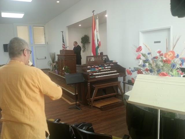 Szeretetvendégség a gyülekezetnél