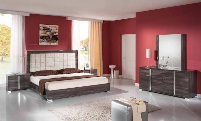 Schema de couleur pour chambre for Couleur chaude pour chambre