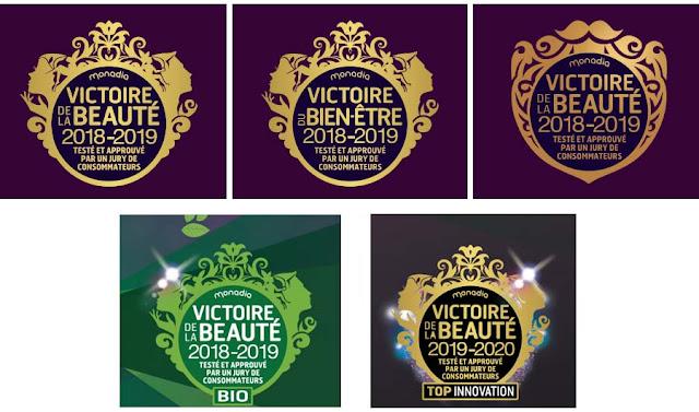 logo des Victoires de la beauté
