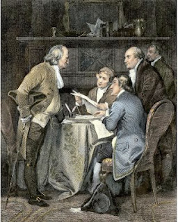 Writing of Declaration of Independence
