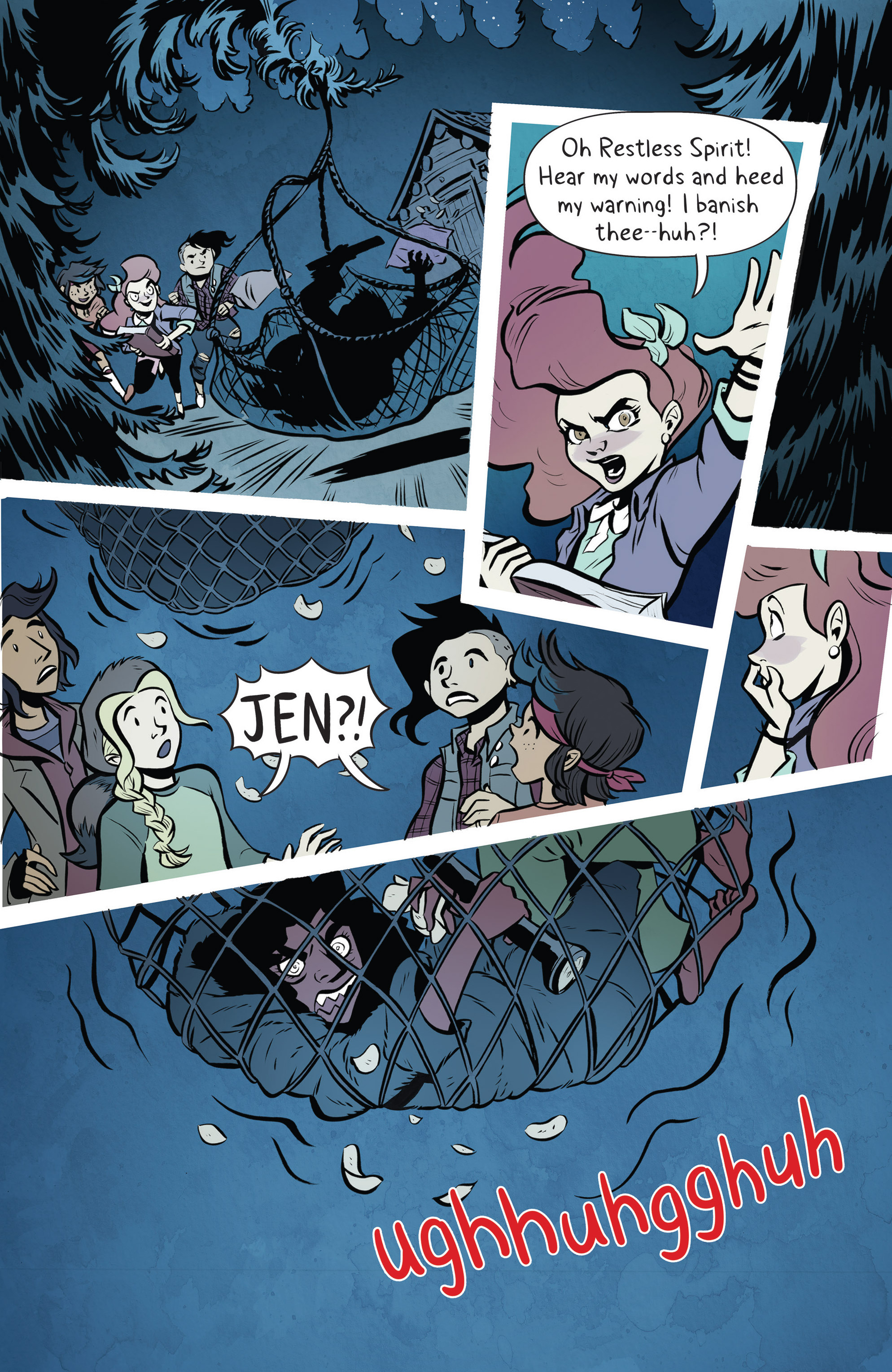 Read online Lumberjanes: Makin' the Ghost of It 2016 Special comic -  Issue # Full - 28
