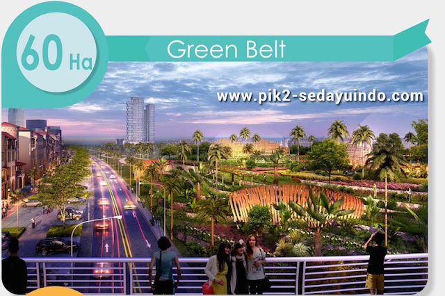 60 hektar green belt @ PIK 2 Sedayu Indo City