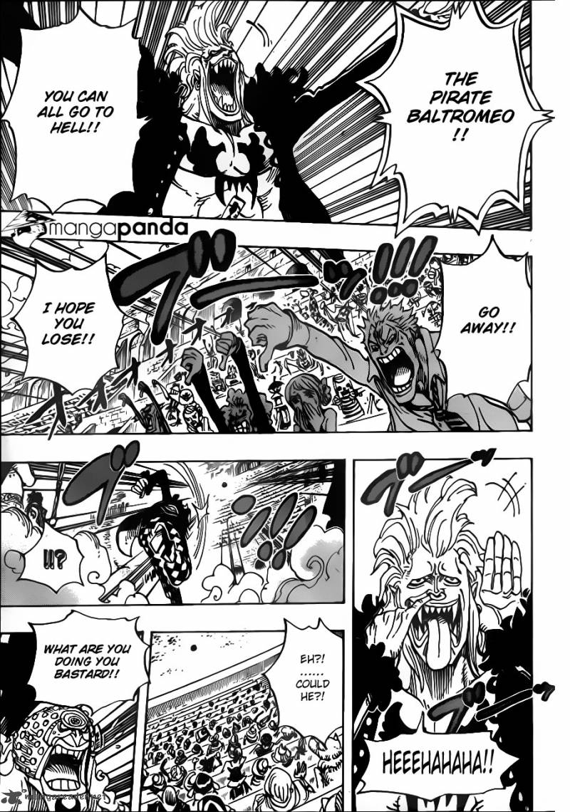 One Piece Ch 706: I Wont Laugh At You