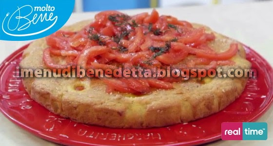 Torta Ai 3 Pomodori La Ricetta Di Benedetta Parodi