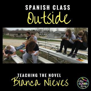 Teaching the novel Bianca Nieve y los 7 torritos