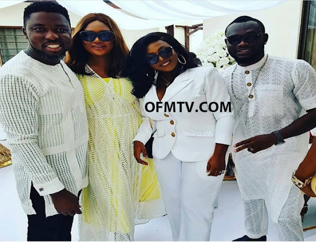 Ghanaian Celebrities At Actor John Dumelo's Marriage