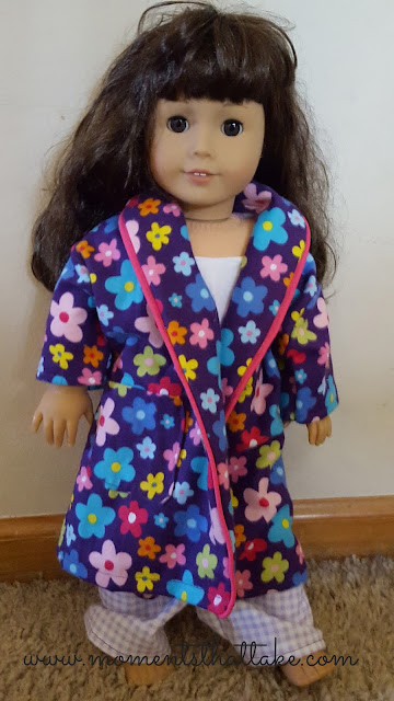 18 inch doll pajamas and robe pattern