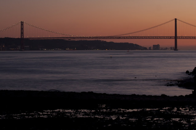 Tramonto a Lisbona