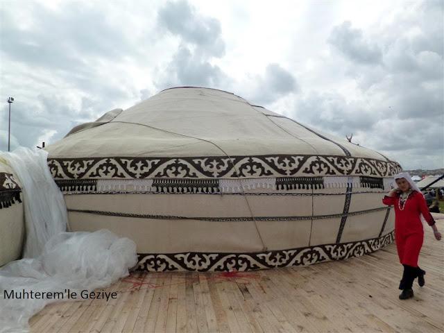 oba çadırı resmi