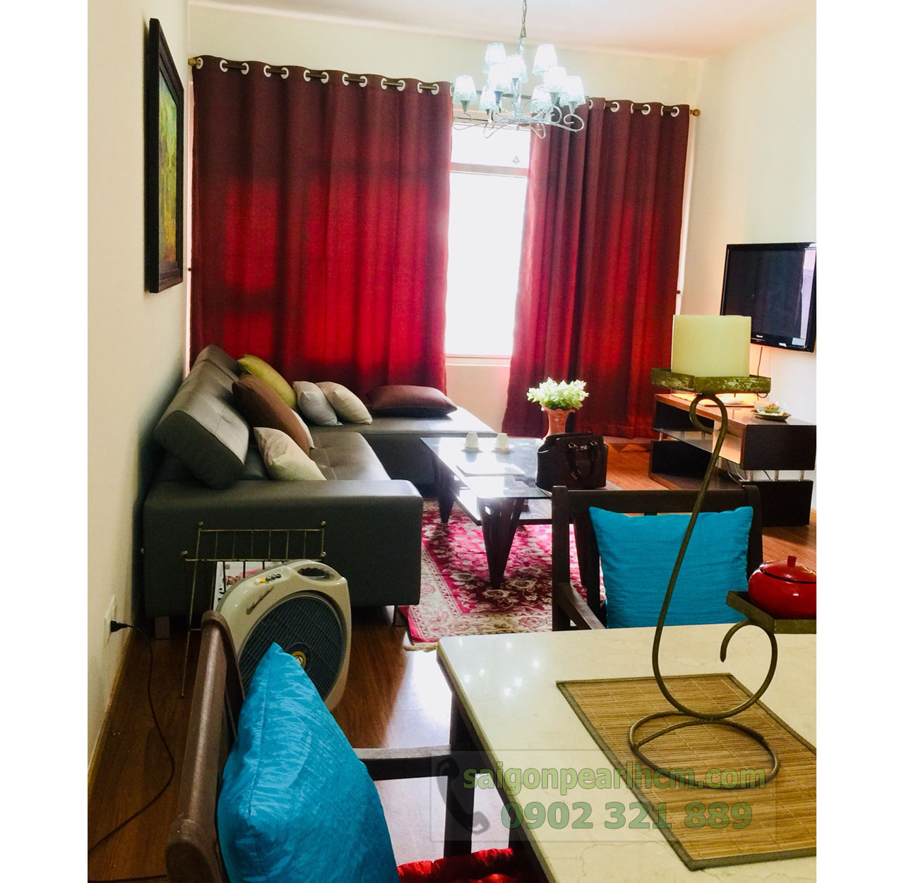 Cho thuê căn hộ Sapphire 2 Saigon Pearl - hình 5
