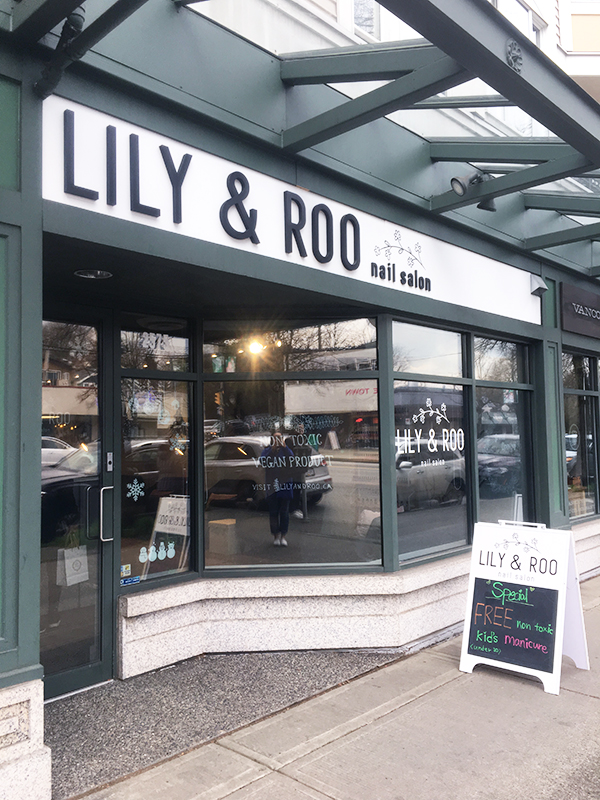 Lily & Roo Vancouver storefront