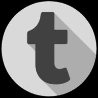tumblr whiteout icon