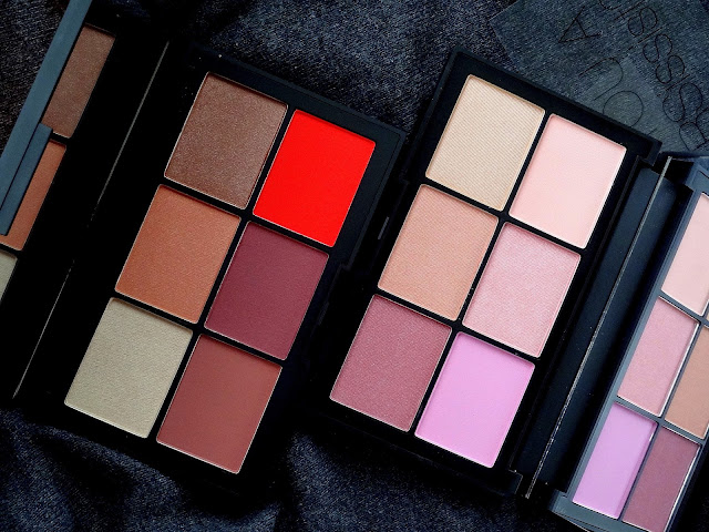 NARSissist Unfiltered I and II Cheek Palettes