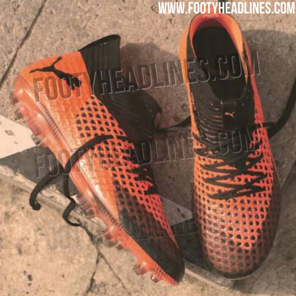 62309a148 This is one of the first pain jobs that Puma will bring out for its Future  19 Netfit football boot. Orange and black ...