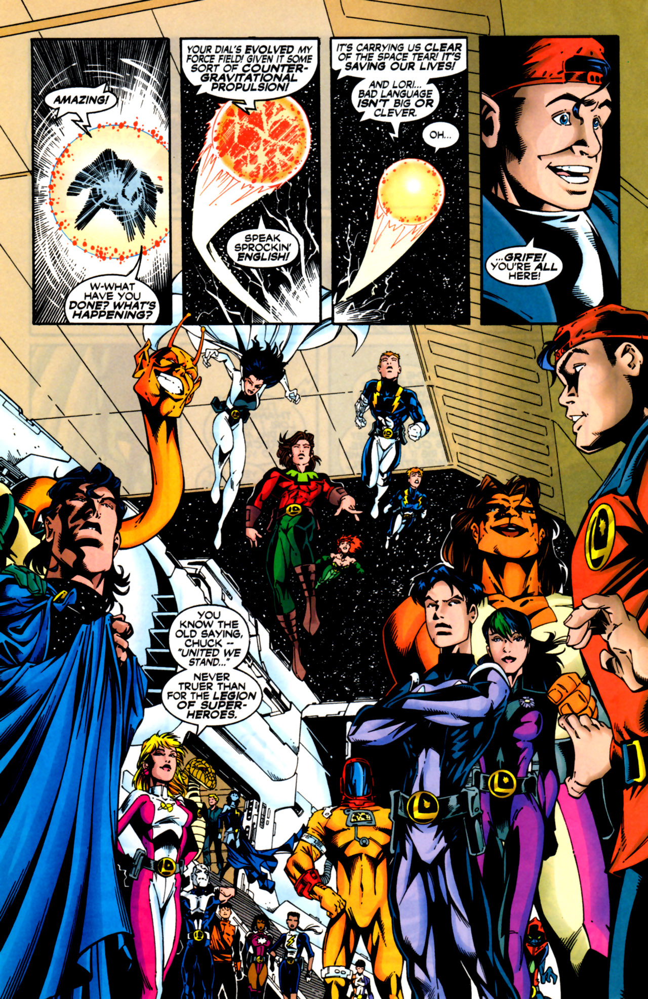 Legion of Super-Heroes (1989) 125 Page 6
