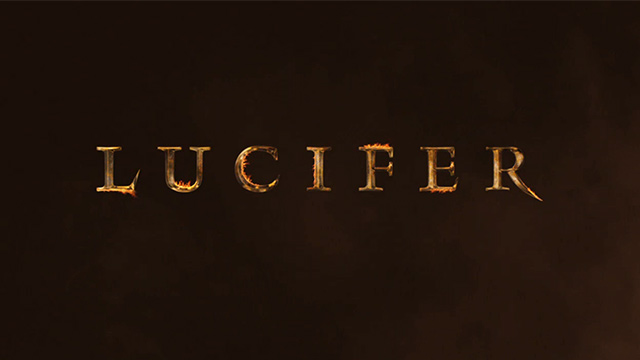 Netflix Lucifer logo wallpaper