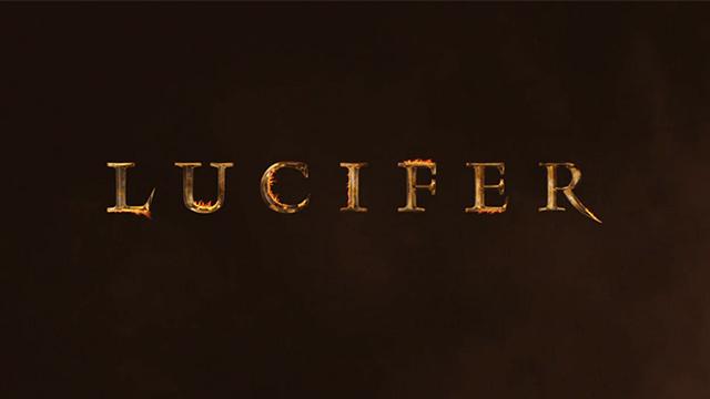 Netflix Lucifer logo wallpaper
