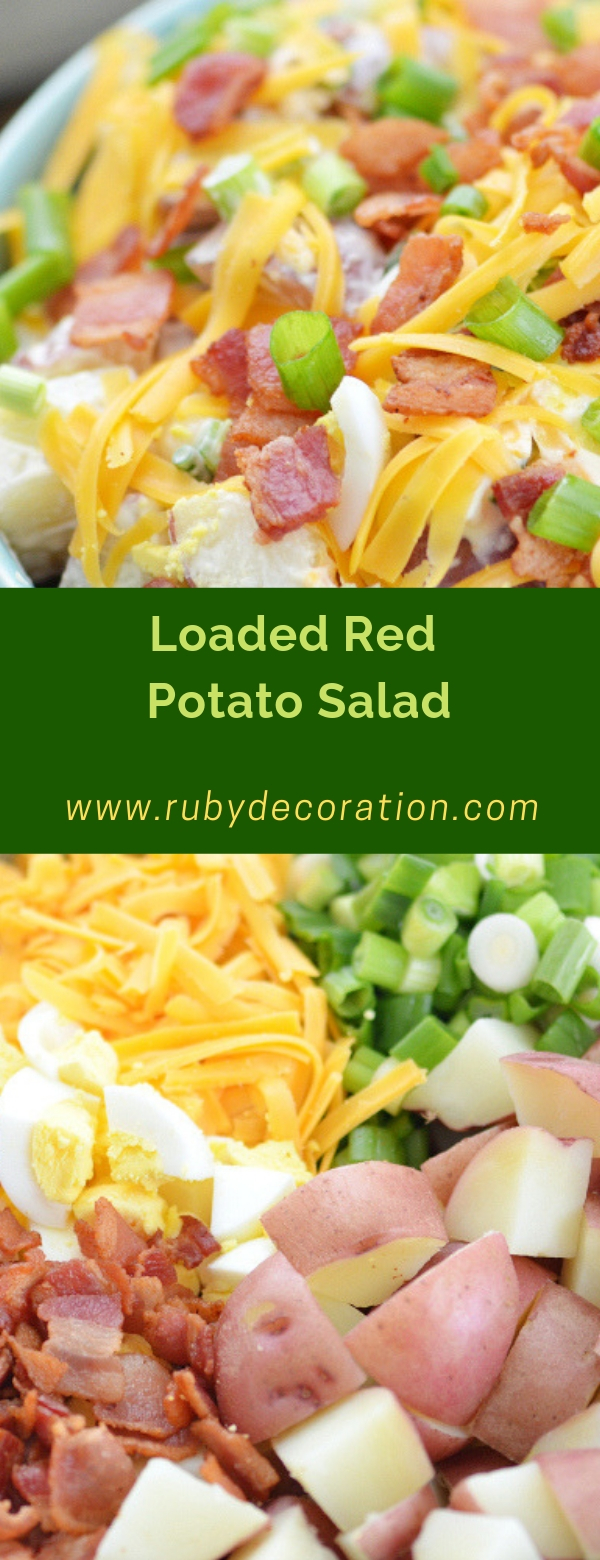 Loaded Red Potato Salad