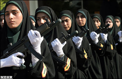 Iranian female police officers